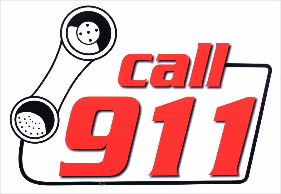 958x662 Call 911 Clipart
