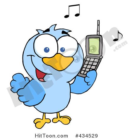 450x470 Calling Bird Clipart