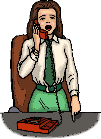 335x458 Telephoning Clipart