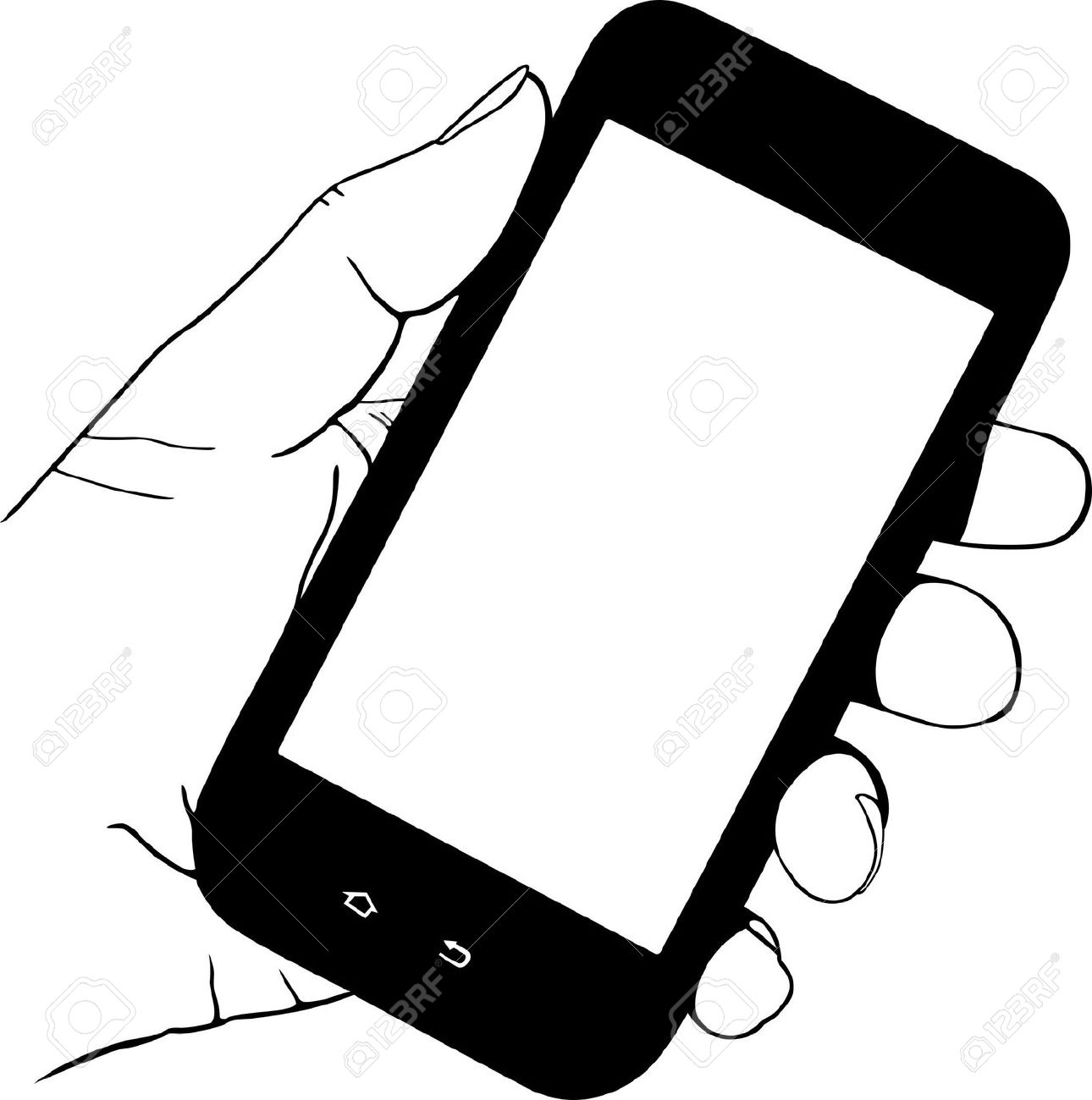 1290x1300 Phone Clipart Hand Holding