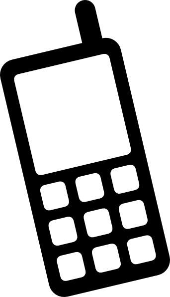 342x595 Icon Mobile Phone Clip Art