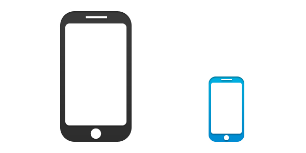600x300 Mobile Phone Icon, Psd Amp Png Psd Icons