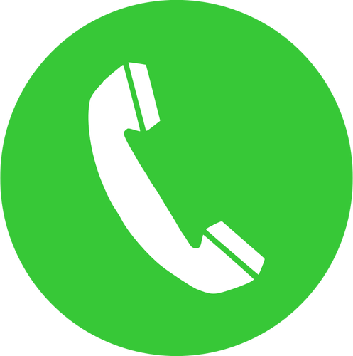 497x500 Phone Call Icon Vector Image Public Domain Vectors