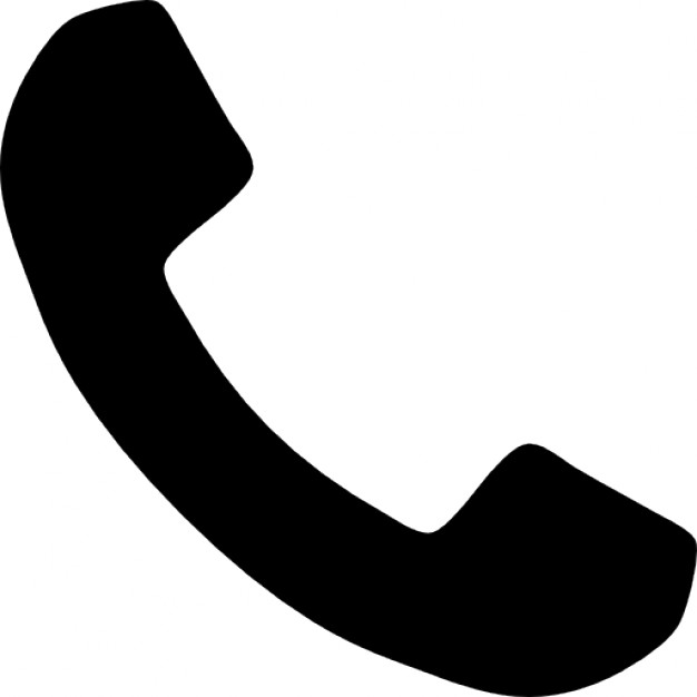 626x626 Telephone Handle Silhouette Icons Free Download