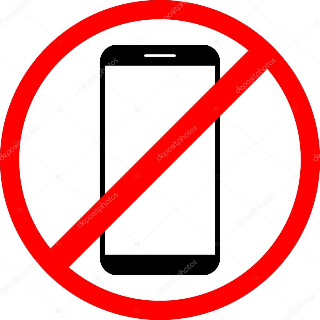 1024x1024 Icon Is Forbidden Use The Phone Stock Vector Leberus777.gmail