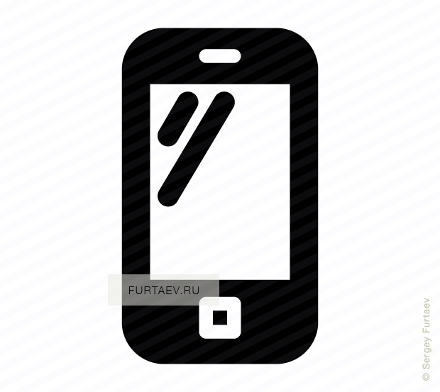 620x553 Mobile Phone Vector Icon