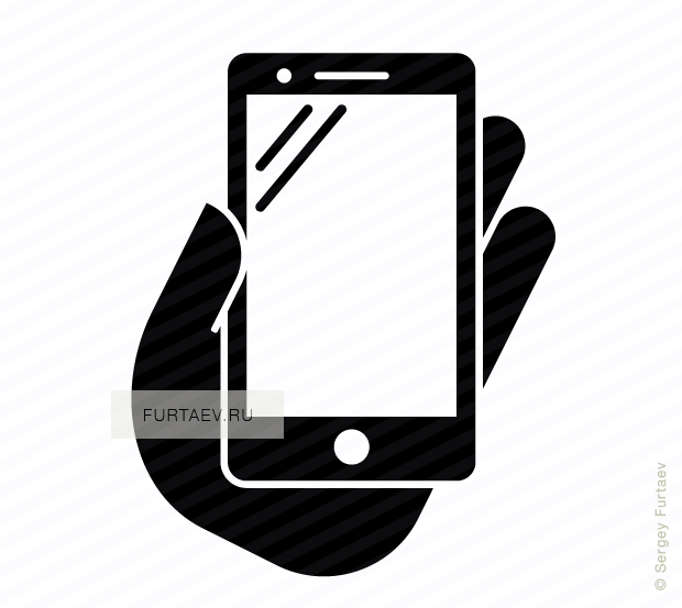 620x553 Phablet In Hand Vector Icon