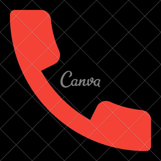 550x550 Phone Call Vector Icon