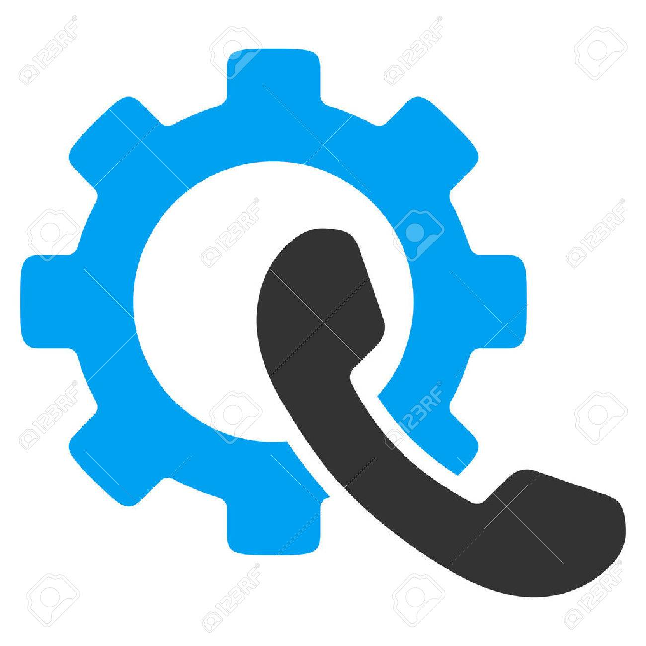 1300x1300 Phone Configuration Vector Icon. Style Is Bicolor Flat Symbol