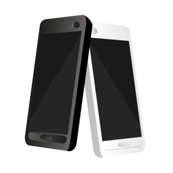340x340 Mobile Phone Icon Vectors Download Free Vector Art