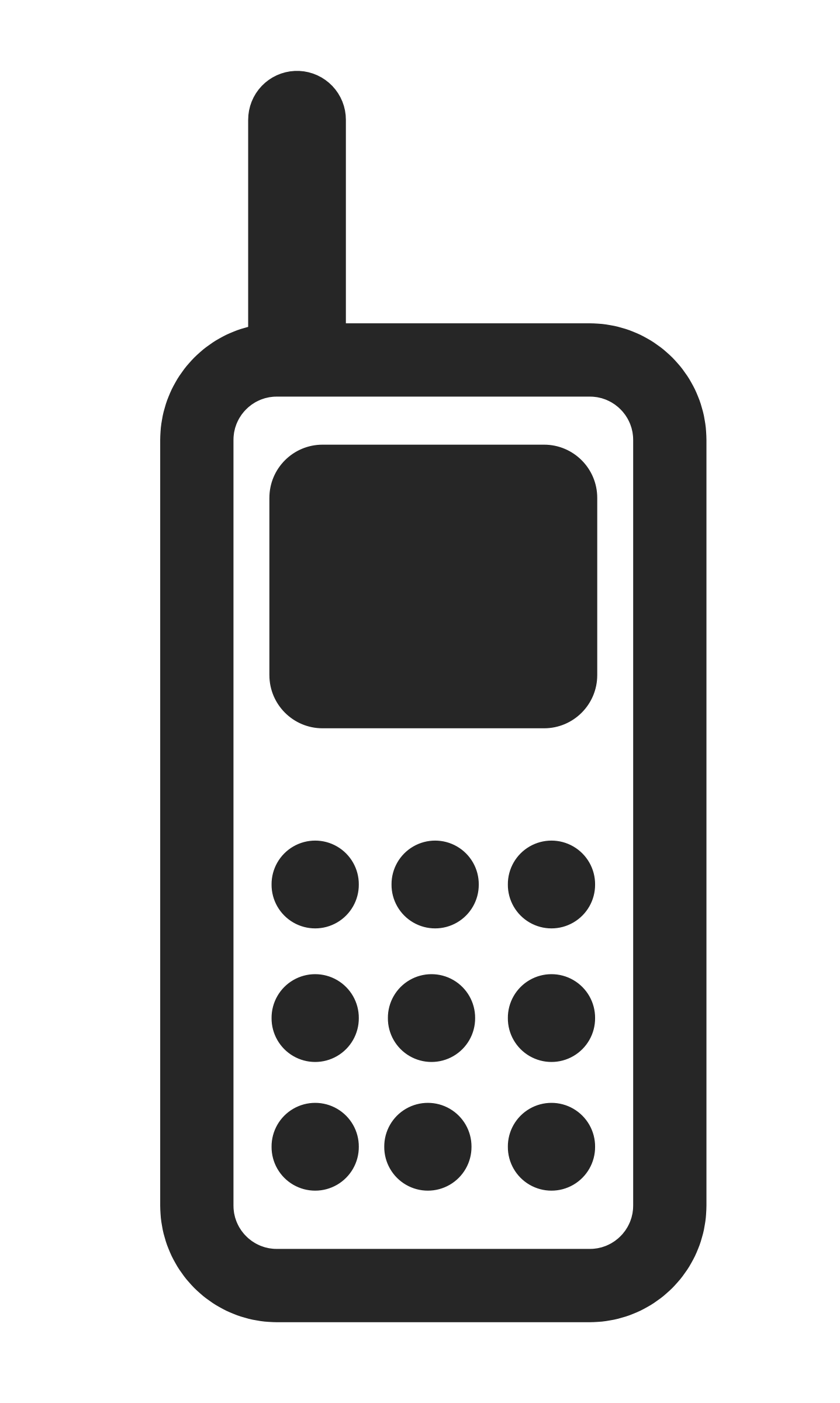 1437x2400 Phone Clipart Mobile Logo