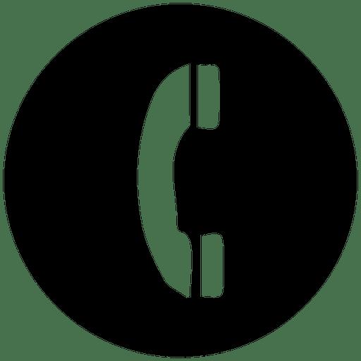 512x512 Phone Round Service Icon