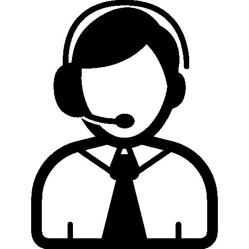 512x512 Telephone Operator I Free Icon Employees Icons