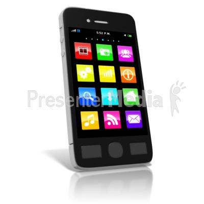 400x400 Phone Clipart Smartphone
