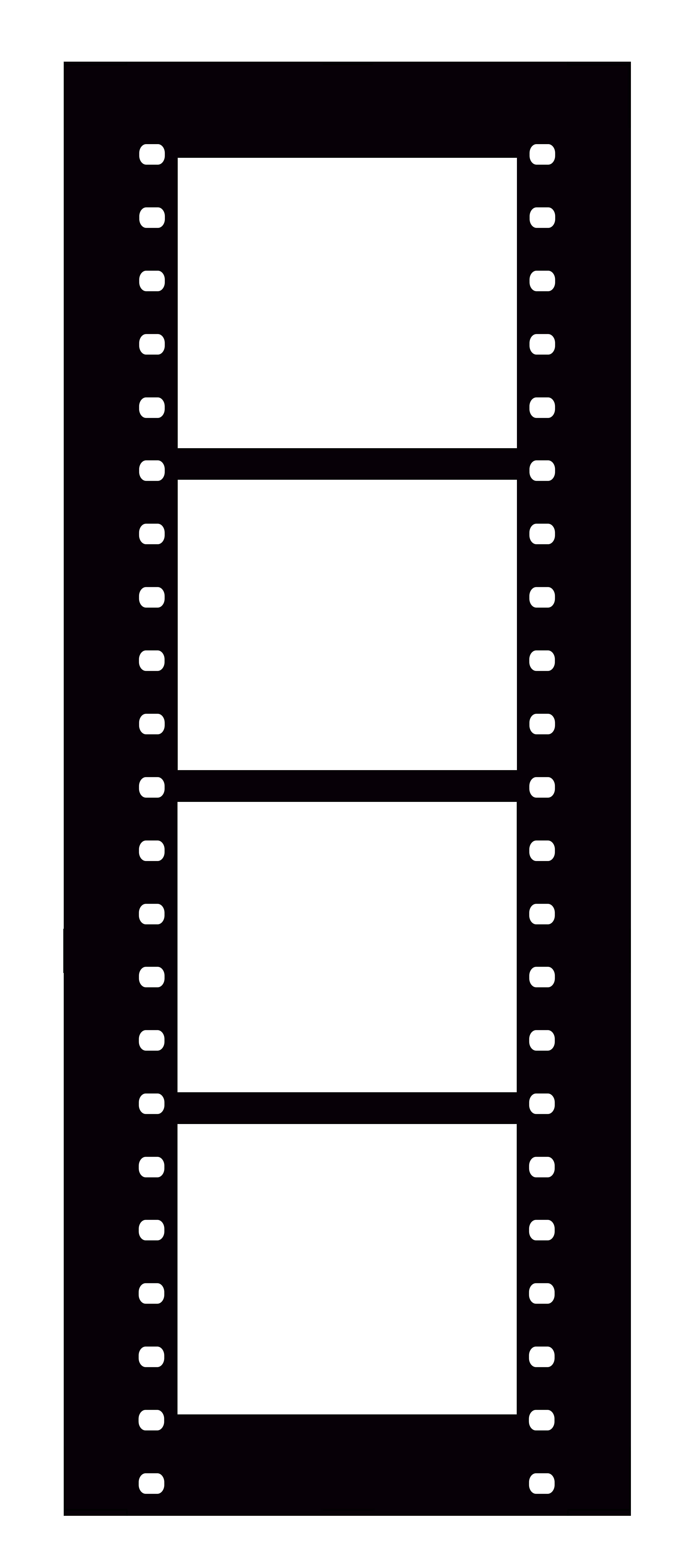 3300x7452 Film Strip Canvas Photos On Film Wall Decor Artwork Blossom