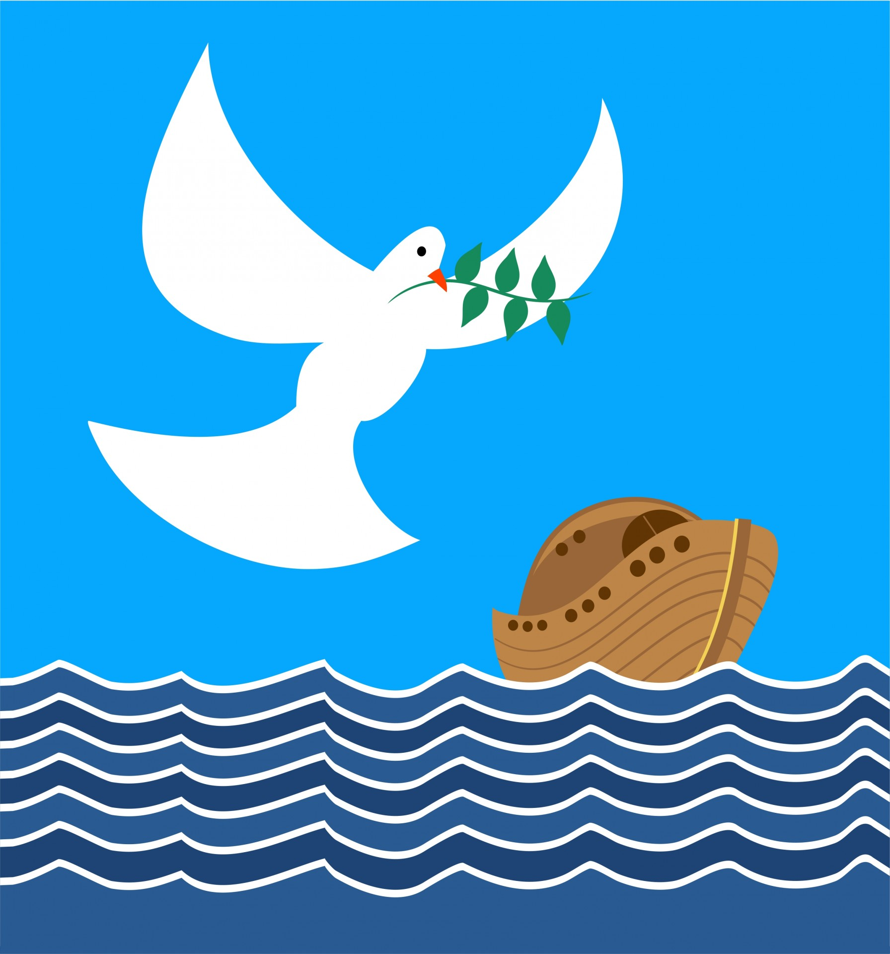 1792x1920 Noah's Ark Clipart Free Stock Photo
