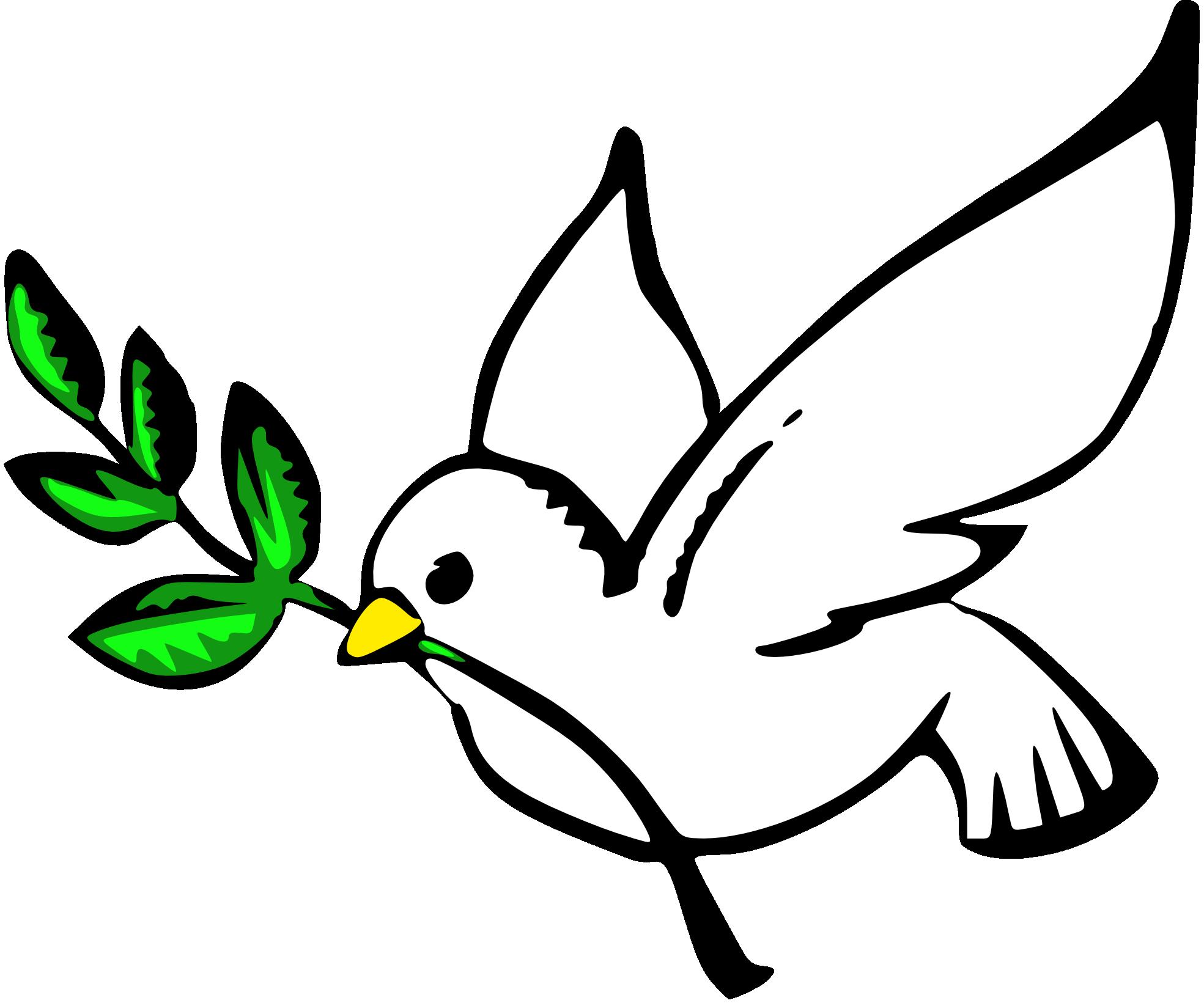 1969x1641 Turtle Dove Clipart Olive Branch Clip Art