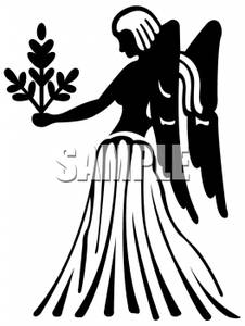 226x300 And White Virgo The Virgin Holding An Olive Branch