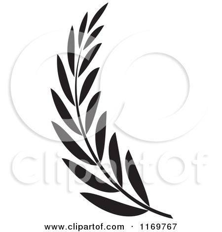 450x470 Clip Art Black And White Olive Clipart