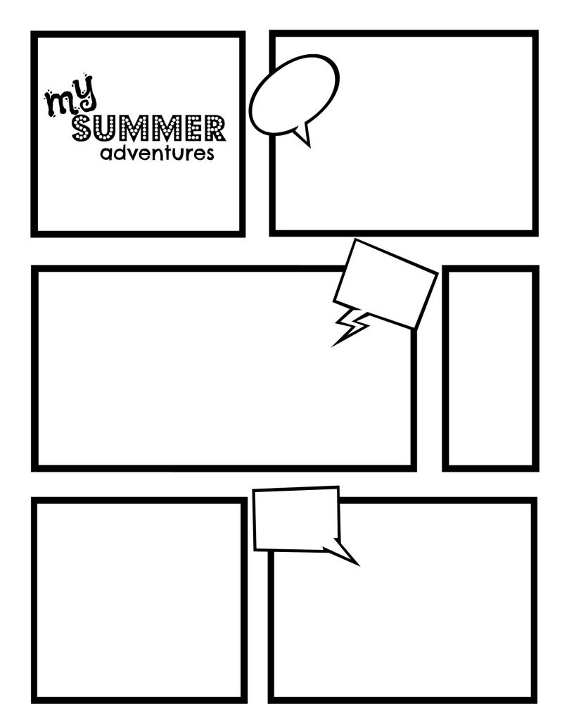 799x1034 Cartoon Template Pdf