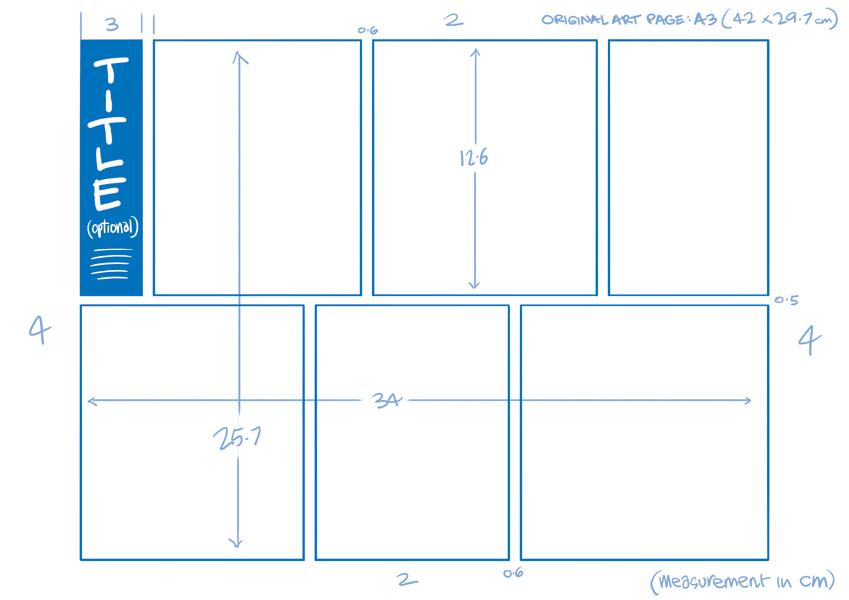 849x600 Comic Strip Half Page Template Anton Emdin Illustration Amp Cartoons