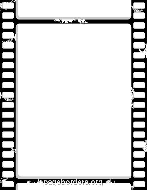 470x608 Film Strip Border Foto Border Templates, Clip Art