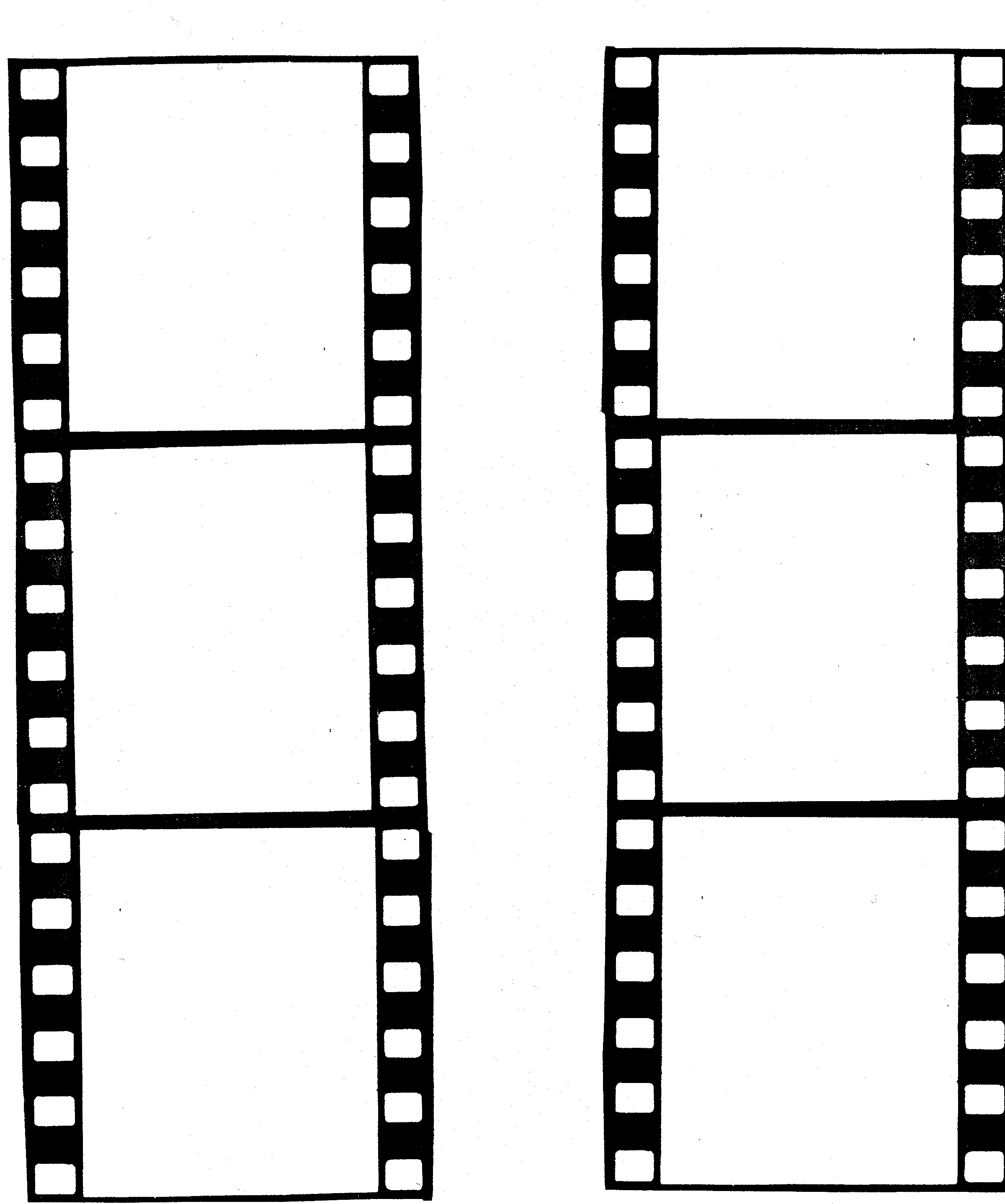 2400x2875 Free Film Strip Border Template Clipart 2