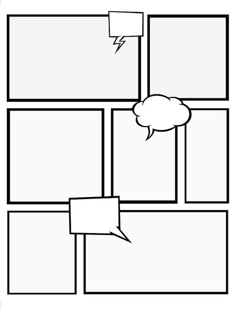 494x640 Make Your Own Comic Book With These Templates Crafts Dcdl