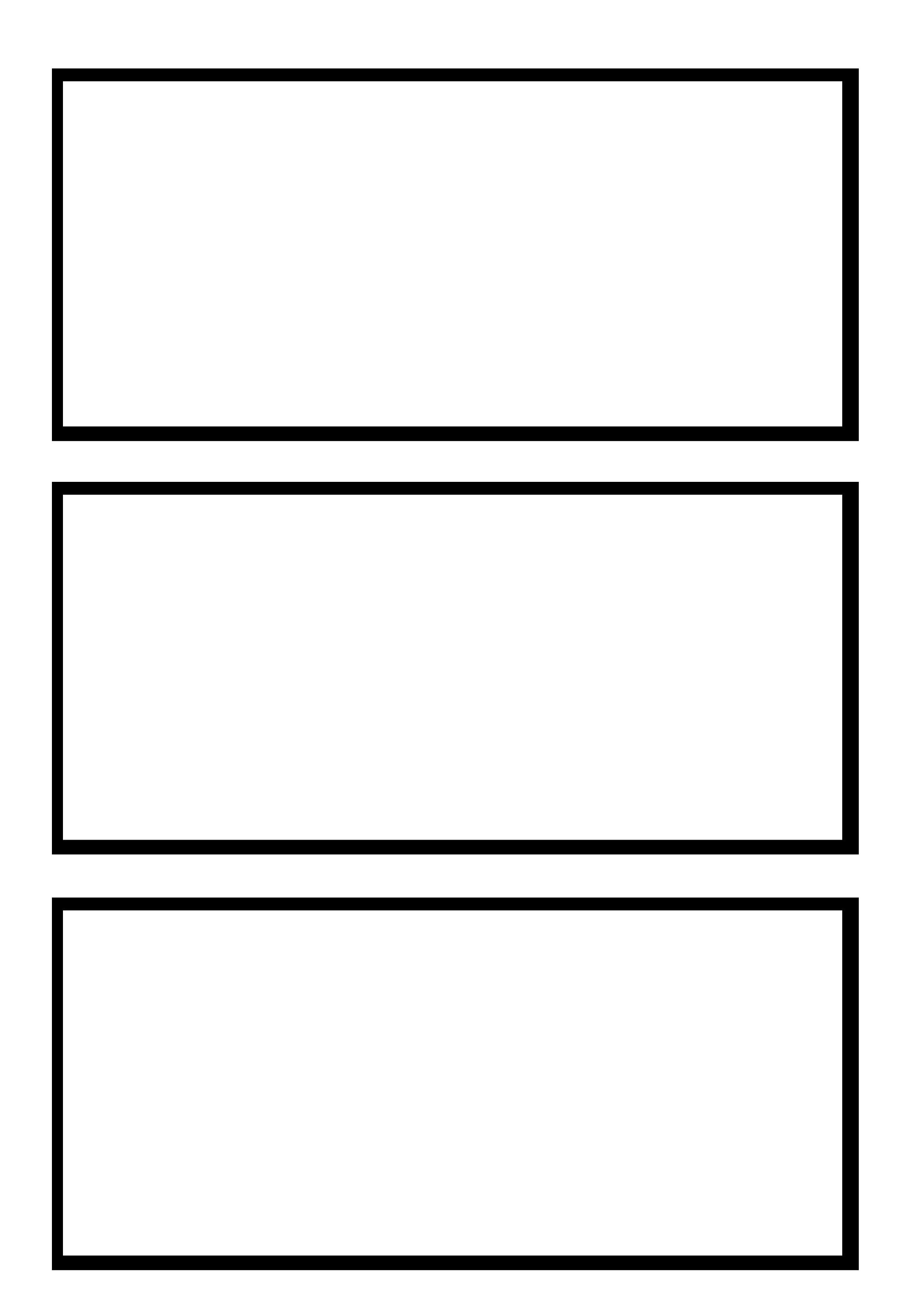 1987x2865 3 Box Comic Strip Template By Marusame00