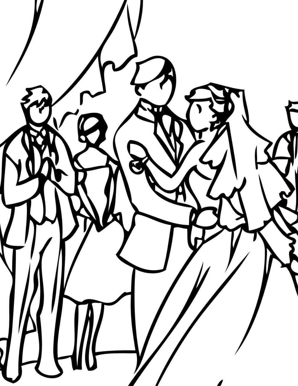 1007x1304 Color Clip Art Downloadorg Clip Wedding Reception Dancing Clipart