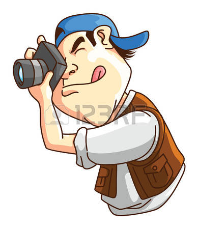 389x450 Man Clipart Photographer