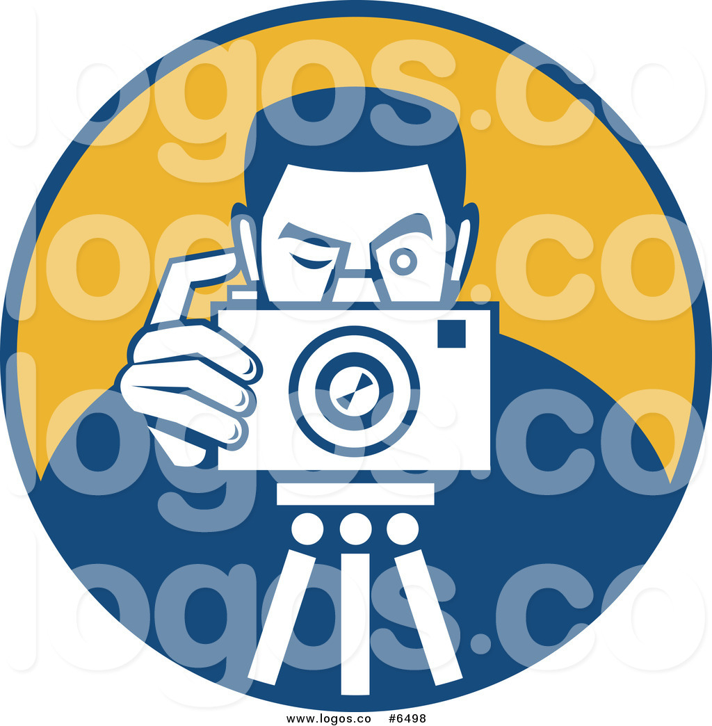 1024x1044 Royalty Free Clip Art Vector Logo Of A Photographer Taking