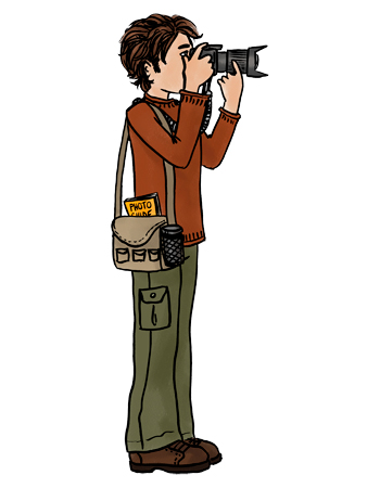 350x450 Camera Clipart School Photographer
