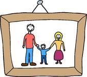 170x151 Clipart Of Family Memories K11861605