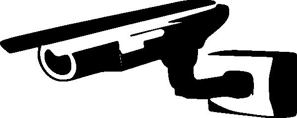 600x239 Surveillence Camera Clip Art