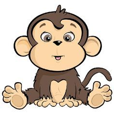 236x236 Cute Cartoon Monkeys Monkeys Cartoon Clip Art Cartoon Images