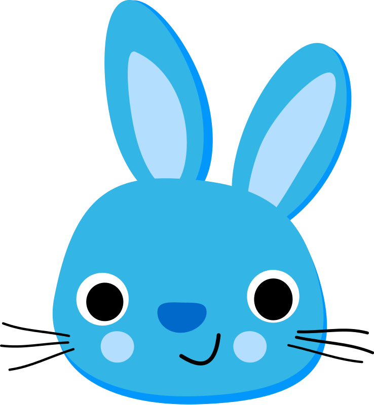 738x800 Blur Clipart Easter Bunny