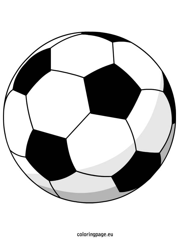 595x804 Soccer Ball Coloring Page Draw Background Soccer Ball Coloring