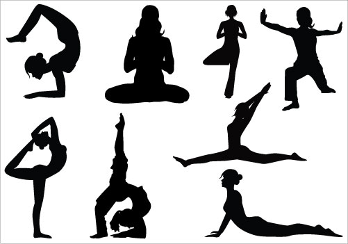 501x351 Yoga Clipart Image