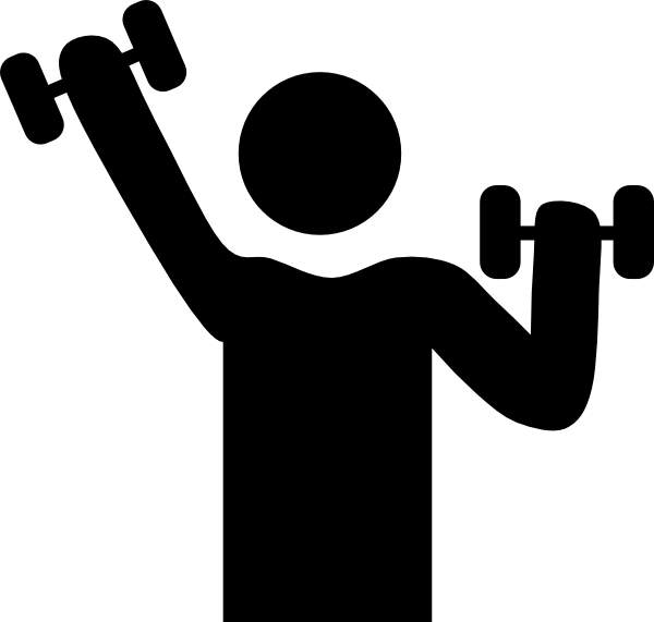 600x571 Clip Art Physical Activity Vs Exercise Cliparts