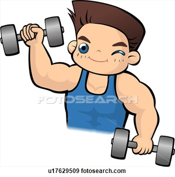 350x353 Physical Health Person Clipart
