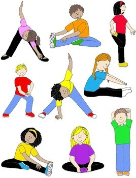 268x350 Kids In Action Stretches And Warm Ups Clip Art 18 Pngs Clip Art