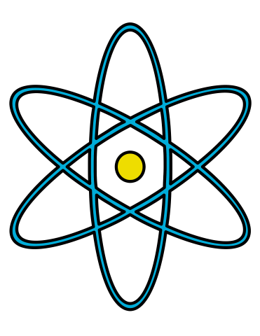 371x480 Science Clip Art Molecules