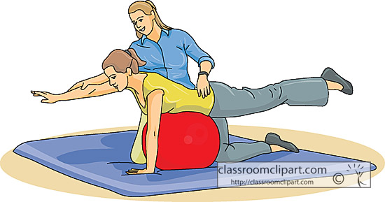 550x289 Physical Therapist Clipart