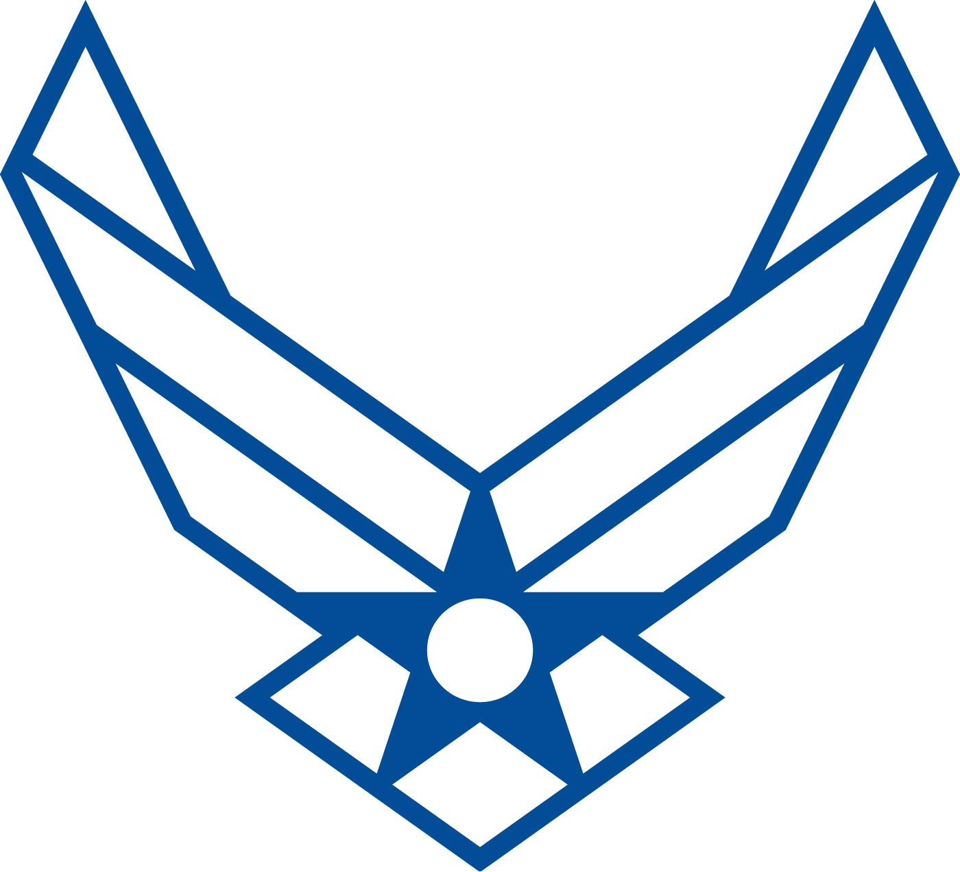 1400x1272 Air Force Logo Clip Art