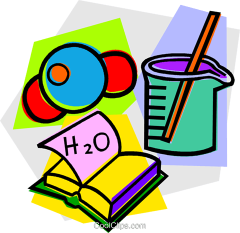 480x466 School Project, Physics Royalty Free Vector Clip Art Illustration