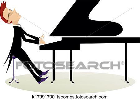 450x324 Pianist Clipart Eps Images. 674 Pianist Clip Art Vector