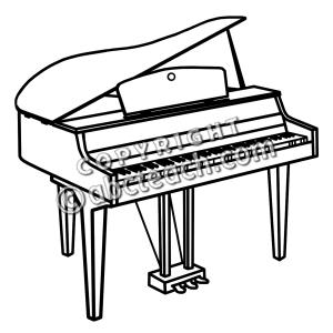 300x300 Piano Clip Art Free Download Clipart Panda