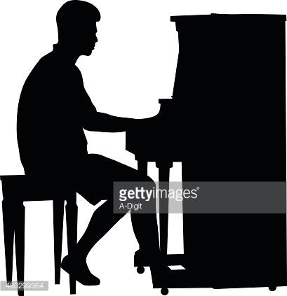 409x423 Piano Clipart Shadow