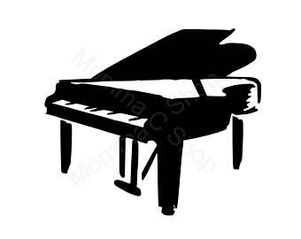 340x270 Piano Svg Etsy